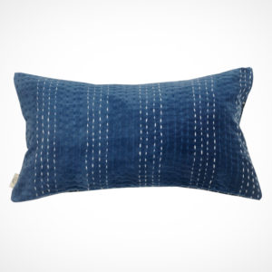 Coussin NavyBlue Face ClaireBeaugrand