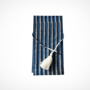 Serviette de table Ray blue Claire Beaugrand