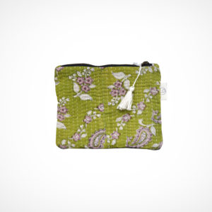 Pochette kantha Small Anis Claire Beaugrand