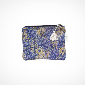Pochette kantha Small Lilas Claire Beaugrand